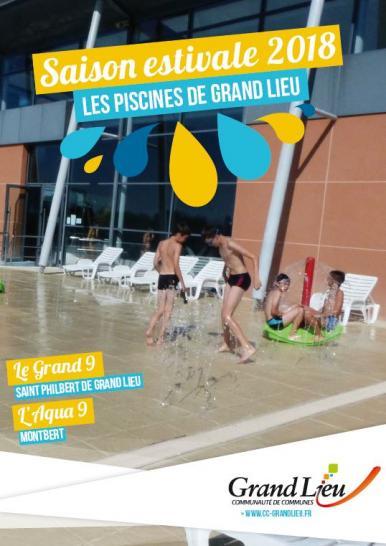 Saison Estivale Piscines De Grand Lieu Communauté De - Piscine de saint philbert de grand lieu